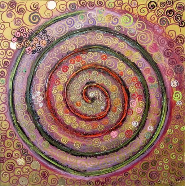 Sweet Spirale 2 - 45 x 45 cm