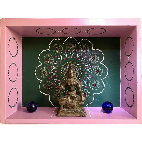 Petit temple décoratif d'intérieur